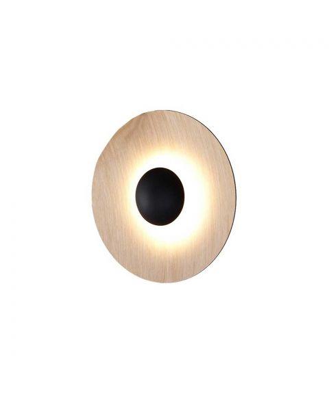 Ginger 20C vegglampe/taklampe, dimbar LED 2700K 546lm, diameter 20 cm