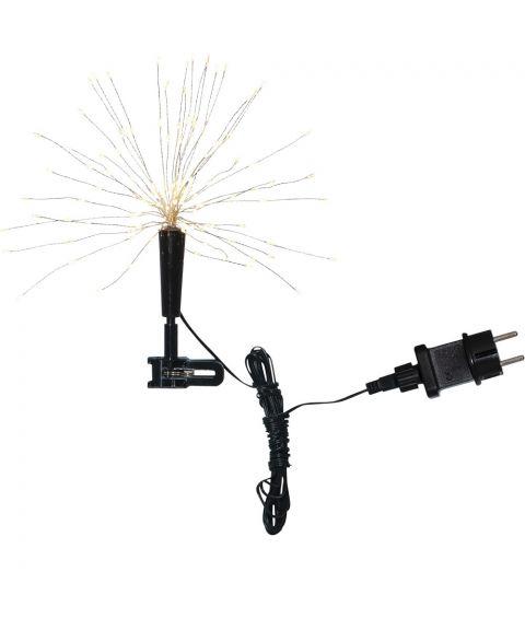 Firework toppstjerne LED (x120), Varmhvitt lys