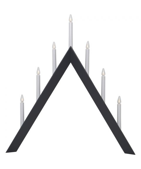 Arrow lysestake med 7 lys, høyde 65 cm