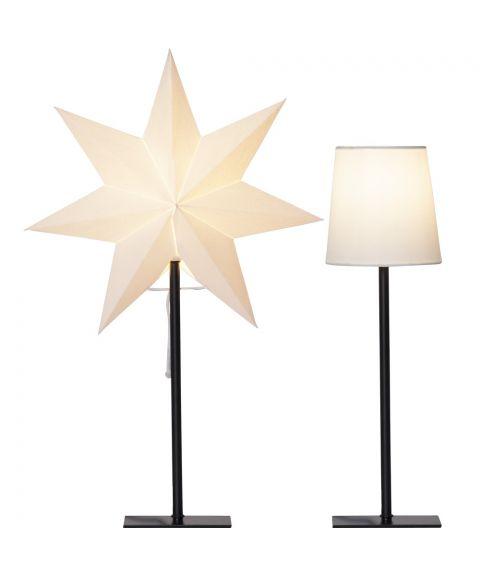 Frozen, Julestjerne og bordlampe i ett, høyde 55 cm