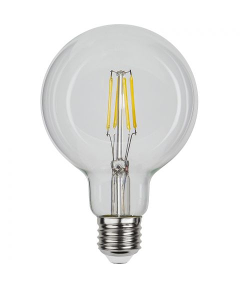 Globe E27 95mm 4000K (kaldt lys) 4W LED 470lm, Dimbar