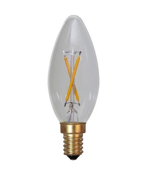 Decoration E14 Mignon 2100K Soft Glow 0,5W LED 30lm