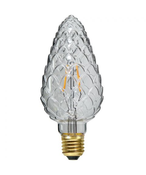 Decoration E27 Kongle Klar 2200K 2,3W LED 150lm, Dimbar