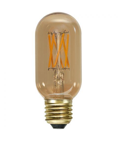 Decoration E27 T45 Vintage Gold 1800K 3,7W LED 240lm, Dimbar