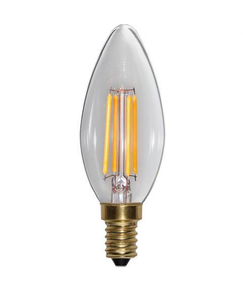 Decoration E14 Mignon 2100K 4W LED 400lm, Med step-dimmer