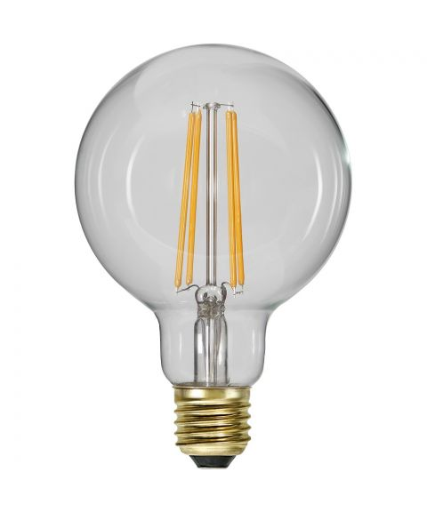 Globe E27 2100K 6,5W LED 700lm, Med 3 step-dimmer (100/50/10%), Diameter 9,5 cm