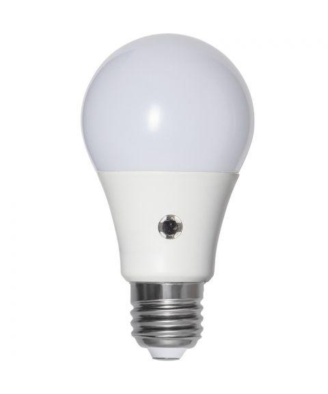 Illumination LED Opal E27 8,5W 2700K 806lm, med lyssensor