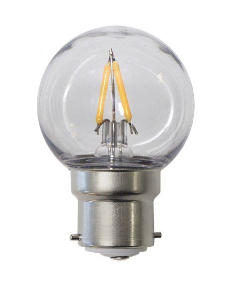 Decoration B22 Krone 2700K 1,3W LED 130lm, Polykarbonat