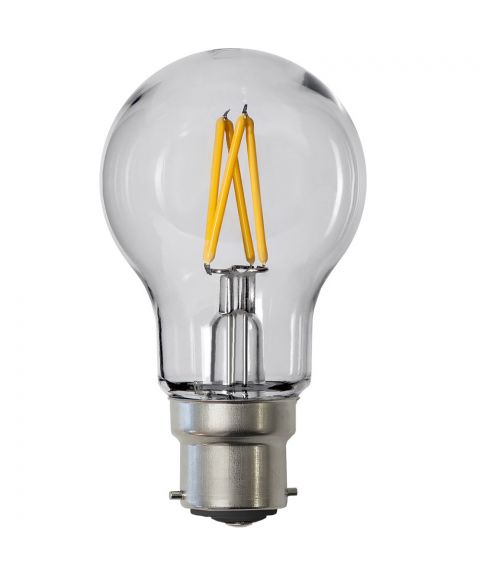 Decoration B22 Normal 2700K 2,4W LED 240lm, Polykarbonat