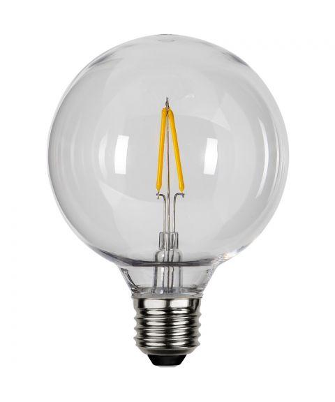 Decoration Globe E27 95mm 2700K 0,6W LED 80lm, Polykarbonat
