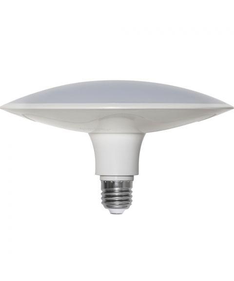 Illumination E27 High lumen 3000K 25W LED 1875lm, diameter 19 cm, Hvit