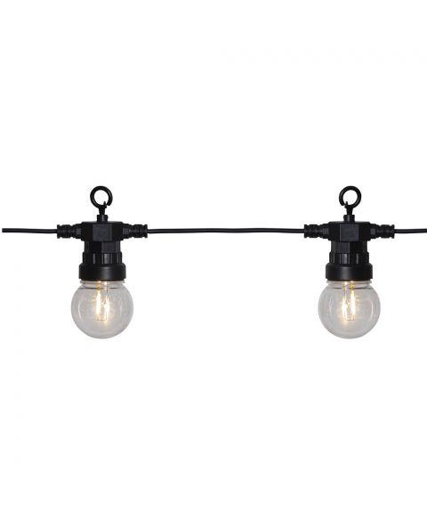 Circus Liten lysslynge, lengde 880 cm, LED (x20), Sort