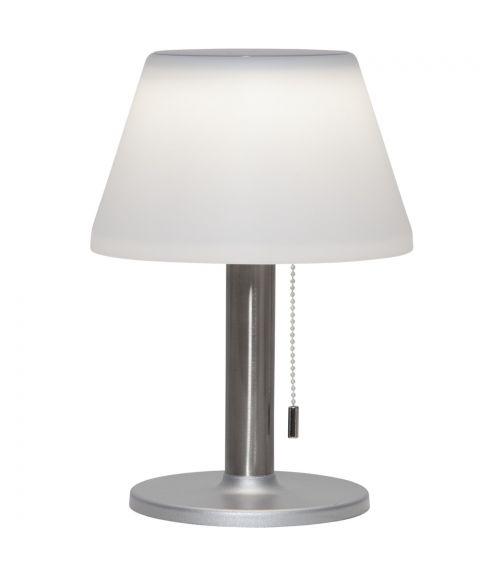 Solia solcelle bordlampe, Step-dim, høyde 28 cm