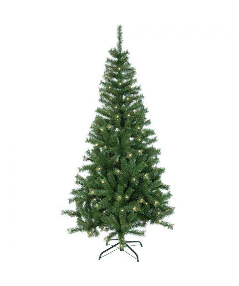 Juletre 195 cm, Kalix Twinkle, LED (x160), med timerfunksjon
