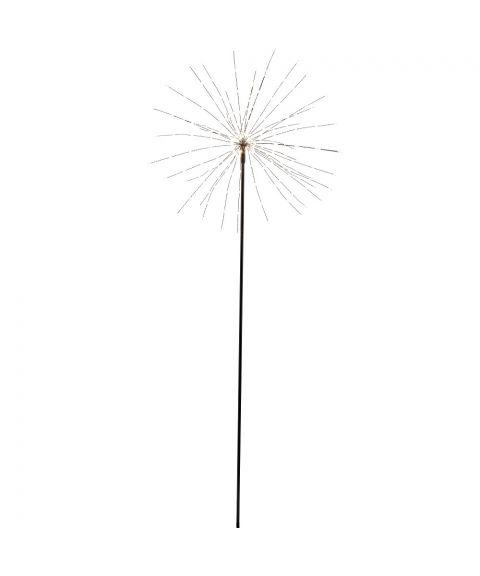 Firework Stående 50 cm, LED (x200), Sort, Varmhvitt lys