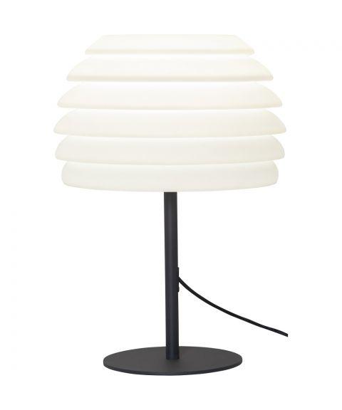 Gardenlight bordlampe for utendørs bruk, høyde 51 cm