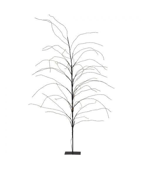 Reedy dekorasjonstre med duggdråper, høyde 180 cm