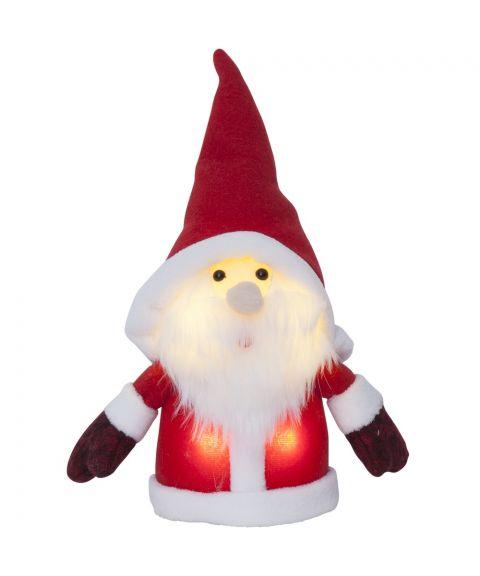 Joylight Nisse, for batteri, rød, høyde 24 cm