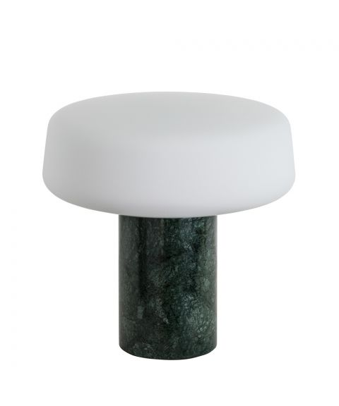 Solid Light bordlampe, høyde 22 cm, Serpentine Green