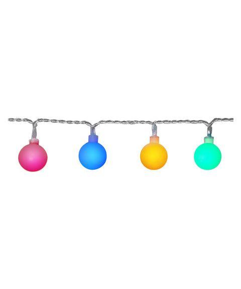 Berry slynge, 7 meter, LED (x50), Flerfarget