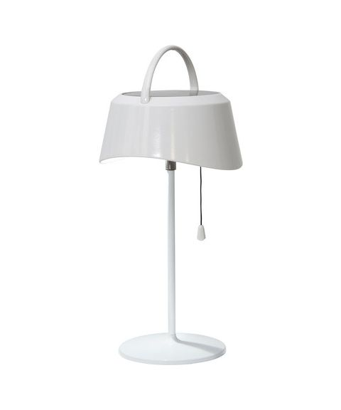 Cervia tiltbar bordlampe, 40 lumen, høyde 36 cm, Solcelle, LED
