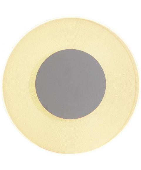 Jade vegglampe/taklampe, diameter 42 cm, dimbar LED 3000K 2160lm, Hvit