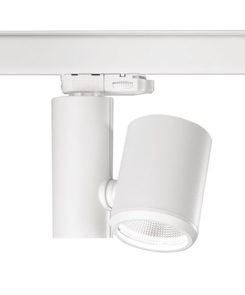 Kent S spot for Global 3T-skinne, 15W LED 3000K 1465lm, Dimbar