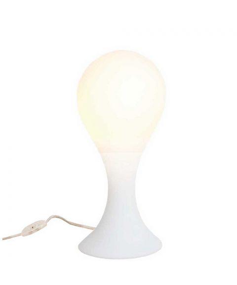 Liquid Light Drop 4 bordlampe, Høyde 40 cm