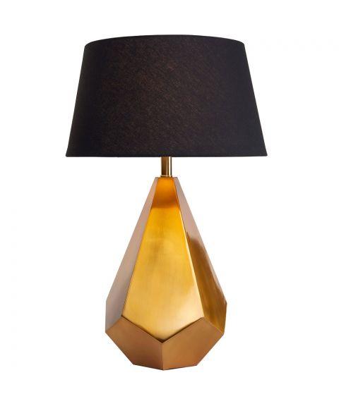 Live bordlampe (u/skjerm), høyde 72 cm, Gylden
