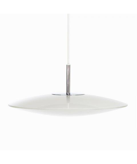 Lovo T1252 takpendel, opalt glass, dimbar LED, diameter 38 cm (restlager)