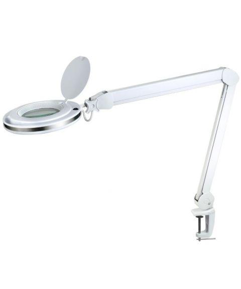 Magni bordlampe, høyde 76 cm, 8W LED, Hvit