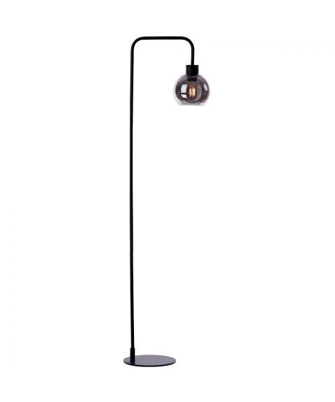 Marco gulvlampe, høyde 142 cm, Sort