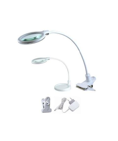 Magni mini bordlampe, høyde 32 cm, 6W LED, Hvit