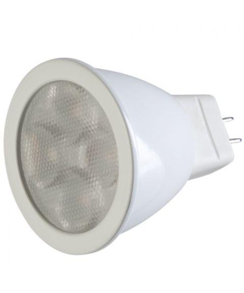 GU4 12V 30° 2700K MR11 3W LED 280 lm CRI90, Dimbar