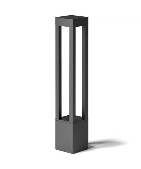 Odin hagelampe, høyde 90 cm, LED 1900lm 2700K, Sort