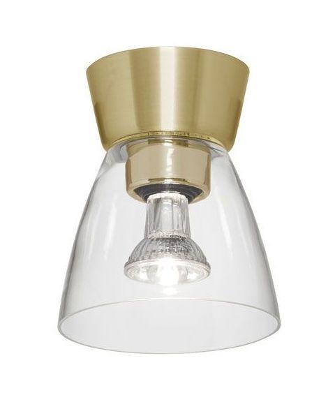 Bizzo P2237 taklampe, Klart glass