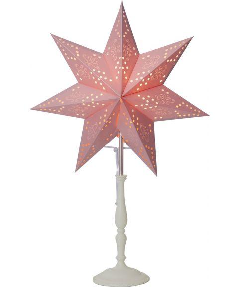 Romantic stjerne på fot, Rosa