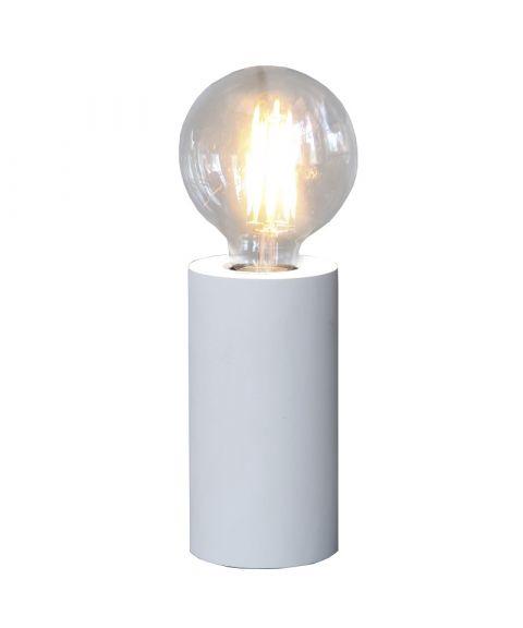 Tub lampefot i tre, E27, høyde 15 cm