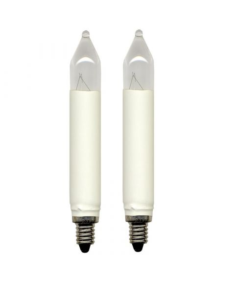 Reservepære glødelampe 16V 3W E10, 2-pk