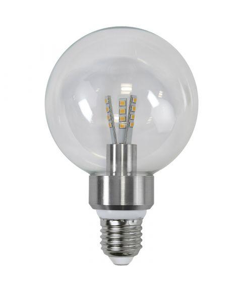 Globe E27 95mm 2700K 5W LED 420lm, Dimbar
