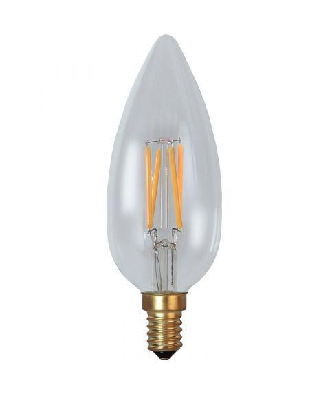 Decoration E14 Klar 2200K 3W LED 260lm, Dimbar