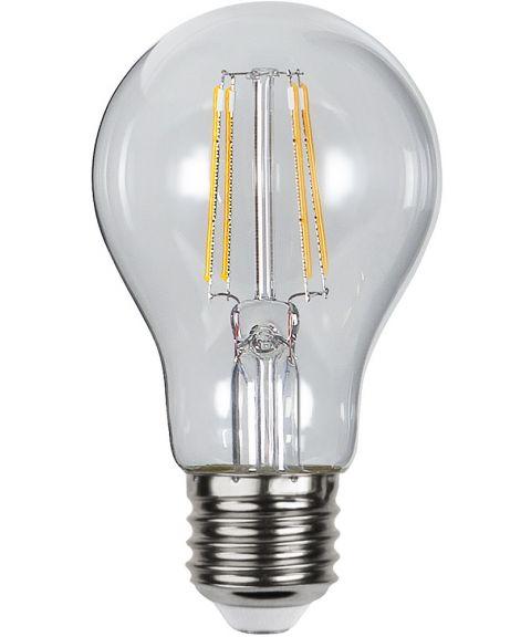 Illumination E27 Normal 2700K 4,2W LED 400lm, Med lyssensor