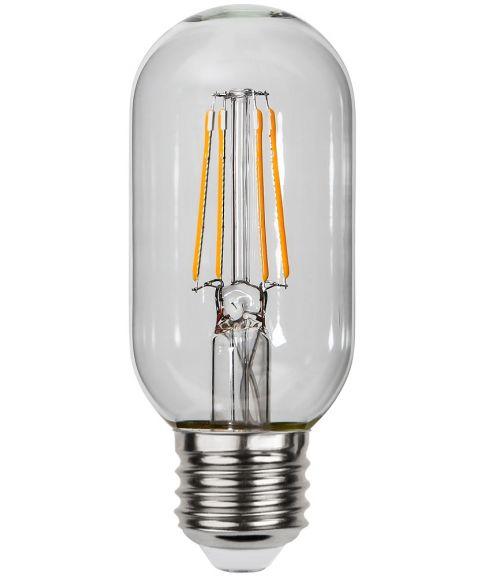 Decoration E27 Rørform 2100K 4W LED 290lm, Med lyssensor