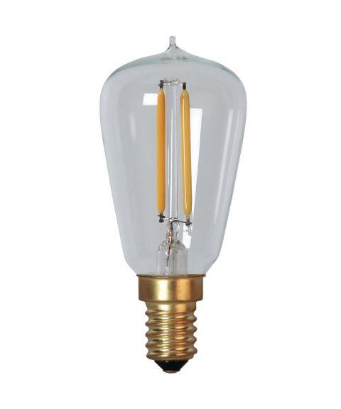 Decoration E14 Edison Klar 2200K 1,7W LED 120lm, Dimbar