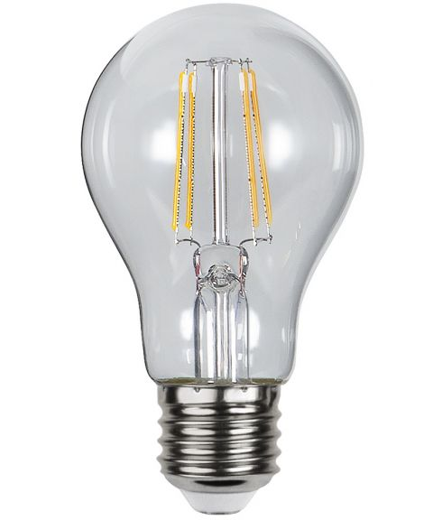Decoration E27 Normal Klar 2100K 4,2W LED 300lm, Med lyssensor