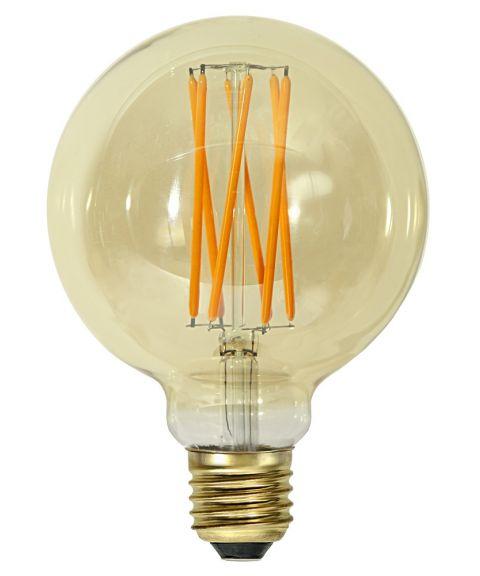 Dekorpære E27 G95 95mm Vintage Gold 1800K 4W LED 240lm, Dimbar