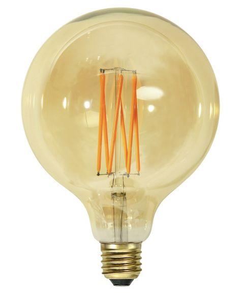 Globe E27 125mm Vintage Gold 1800K 3,7W LED 240lm, Dimbar