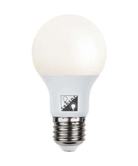 Illumination Opal E27 LED 2700K 806lm, med lyssensor (restlager)