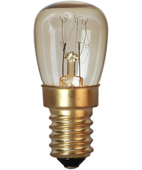 Ovnspære E14 15W glødepære for bruk i 300°C