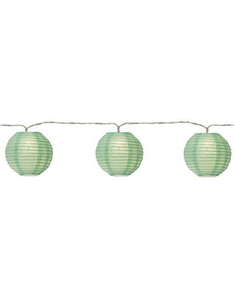 Festival slynge LED (x10), lengde 135 cm, Grønn